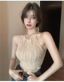 FREE SHIPPING CAMISOLE KNITTED VEST