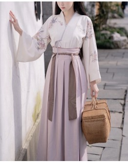 LADIES FLORA HANFU TOPS+DRESS