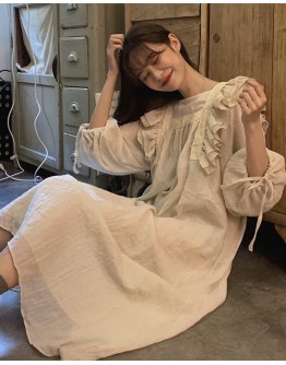 LADIES FLOUNCED MAXI DRESS