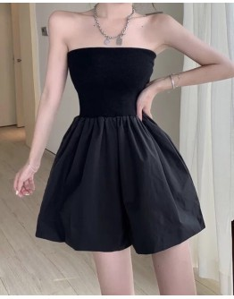 FREE SHIPPING LADIES OFF-THE-SHOULDER PLUS JUMPSUIT