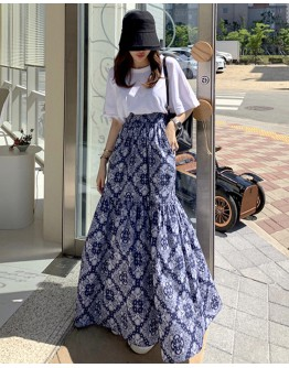 FREE SHIPPING LADIES BACKLESS TOPS / MAXI LONG-SKIRT
