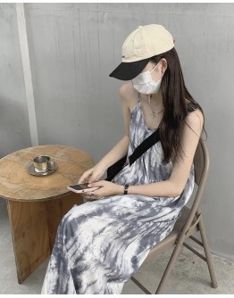 FREE SHIPPING LADIES CAMISOLE MAXI DRESS
